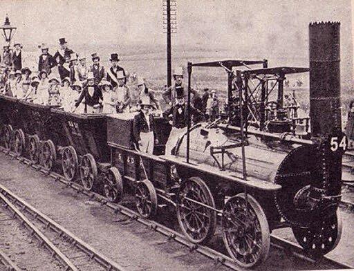 Invención del Ferrocarril.