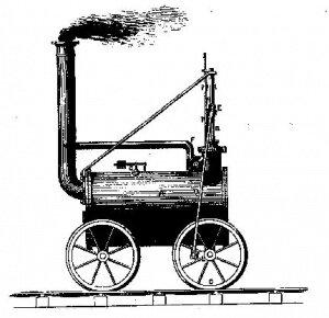 creación de la máquina a vapor