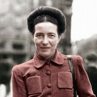 Simone de Beauvoir timeline
