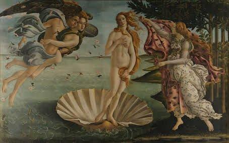 Nacimiento de Venus (1485-1486)