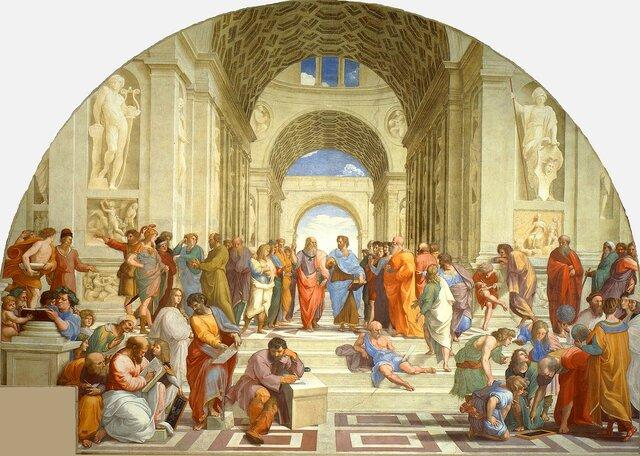 La escuela de Atenas (1509-1511)