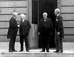 Relación internacional de las grandes potencias