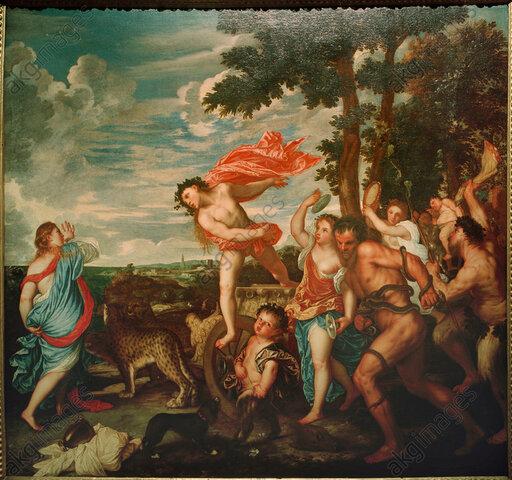 Bacchus and Ariadne-Titian