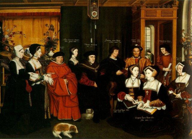 Sir Thomas More and Family