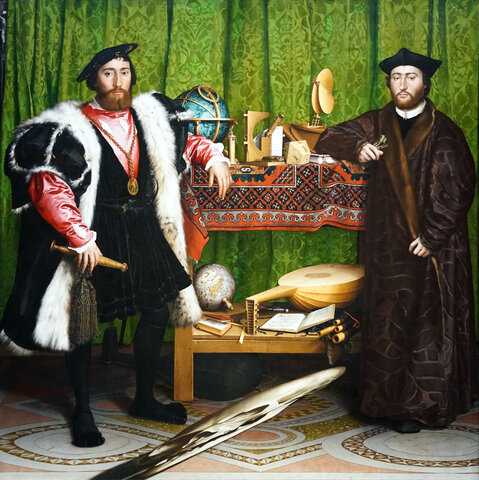 The Ambassadors-Hans Holbein the Younger
