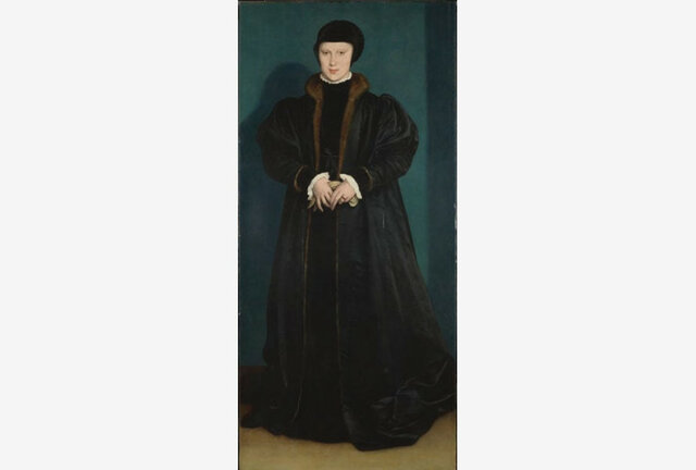 Portrait of Christina, Duchess of Milan - Hans Holbein the Younger