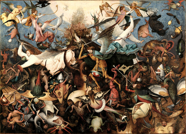 The Fall of the Rebel Angels - Pieter Bruegel the Elder