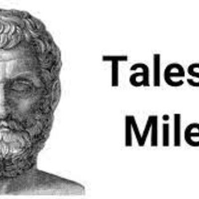 Thales de Mileto. Ruben moya 901 timeline