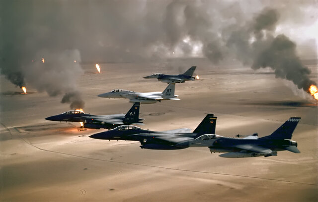 Primeros bombardeos