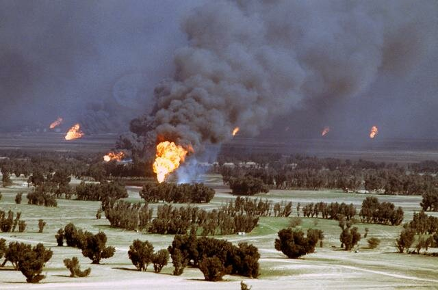 Incendios de petróleo en Kuwait