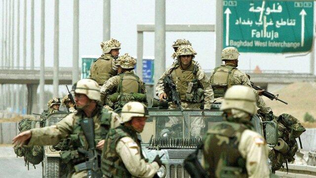 La coalición invade Irak y Kuwait