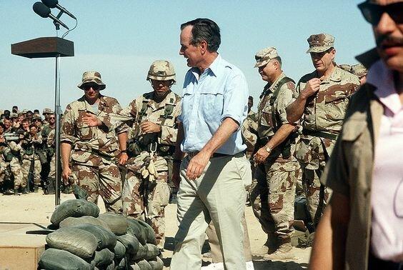 Alto al fuego y Fin de la Guerra del Golfo