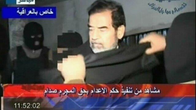 Saddam Hussein es ejecutado
