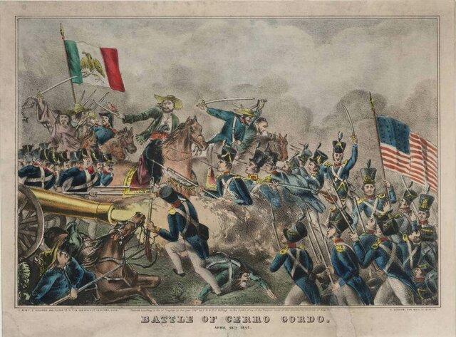 Estados Unidos declara la guerra a México y conquista Nuevo México y California.