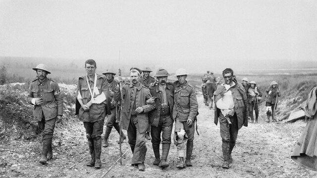 Primera Guerra Mundial (1914 a 1918)