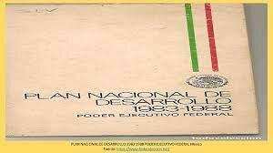 Se publicó el Plan Nacional de Desarrollo 1983-1988