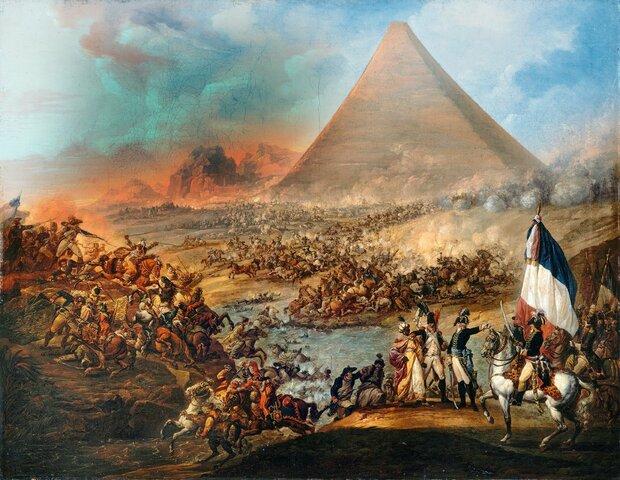 Intento de conquista de Egipto