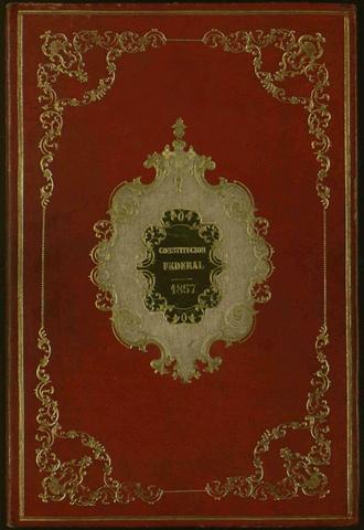 Se jura la Constitución de 1857, la Constitución liberal.
