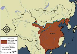 Dinastía Han  ( 206 a. C.-220 d. C. )
