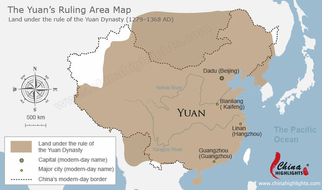 Dinastía (mongol) Yuan (1279-1368)