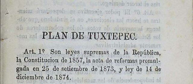 Lerdo de Tejada sucede a Juárez luego de su muerte en 1872 y se reelige en 1876 pero Díaz lo desconoce como Presidente.