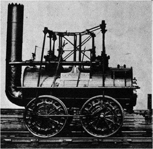Primer tren a vapor