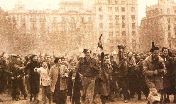 Negrín abandona Barcelona