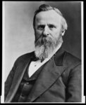RUTHERFORD B. HAYES ELECTED PRESIDENT IN 1874