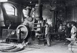 le prime macchine nelle industrie