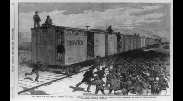 RAILROAD STRIKE NATIONWIDE
