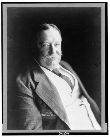 WILLIAM H. TAFT ELECTED PRESIDENT