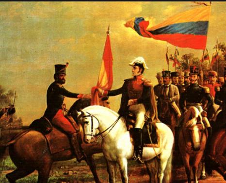 Independencia de Colombia.