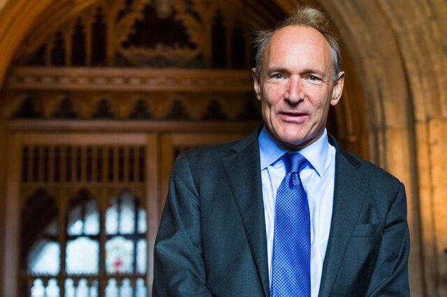 "Timothy ""Tim"" John Berners-Lee (nac 1955)"