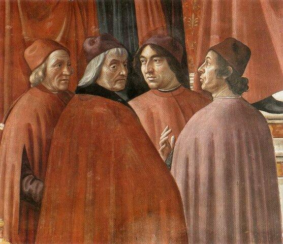 La emigración de sabios bizantinos