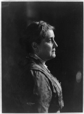 JANE ADDAMS 1ST WOMAN TO GIVE NOMINATION SPEECH