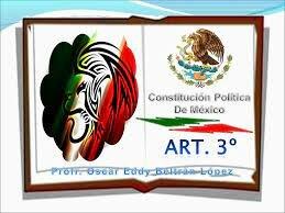 2da Reforma Art. 3ro. Constitucional.
