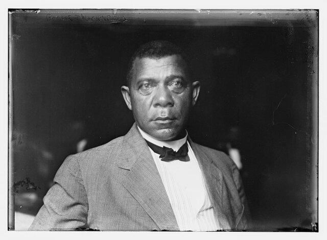 "BOOKER T. WASHINGTON PUBLISHES ""UP FROM SLAVERY"""