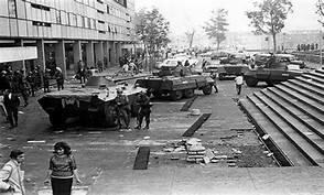 La matanza de Tlatelolco.