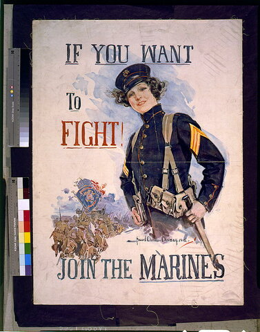 WOMEN JOIN THE MARINE CORPS
