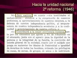 Segunda reforma al artículo 3° constitucional.