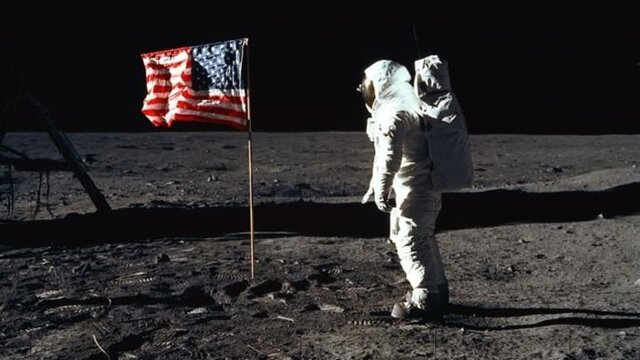 The US Puts a Man on the Moon