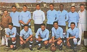Campeón Uruguay del mundial: Uruguay 1930