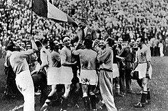 Campeón Italia del mundial: Italia 1934