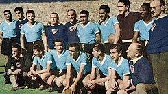 Campeón Uruguay del mundial: Brasil 1950