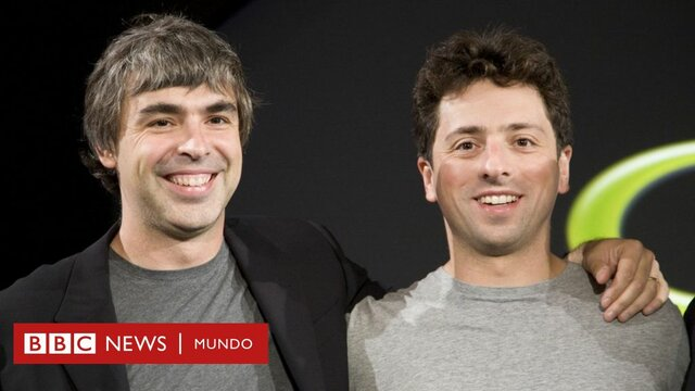 Larry Page y Sergey Brin.