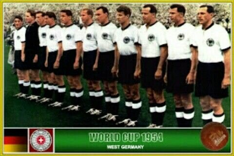 Campeón Alemania del mundial: Suiza 1954