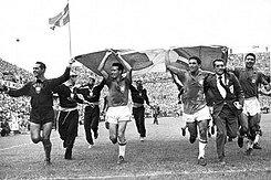 Campeón Brasil del mundial: Suecia 1958