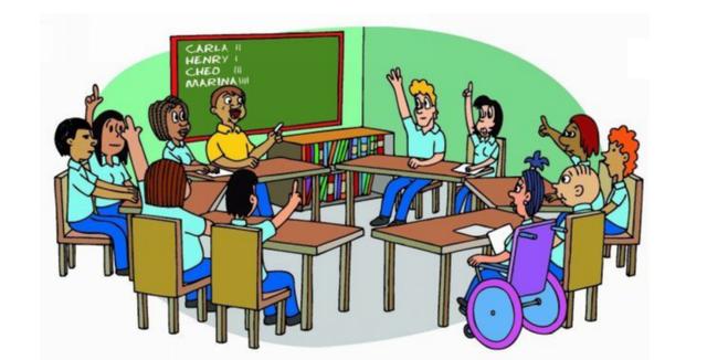 Educación igualitaria.