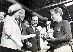 Campeón Inglaterra del mundial: Inglaterra 1966