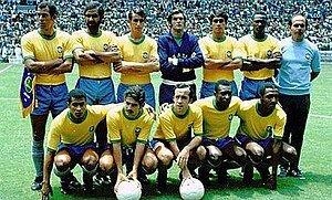 Campeón Brasil del mundial: México 1970